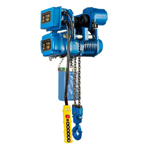 Chain Hoist w/Low-Headroom Motorized Trolley(1